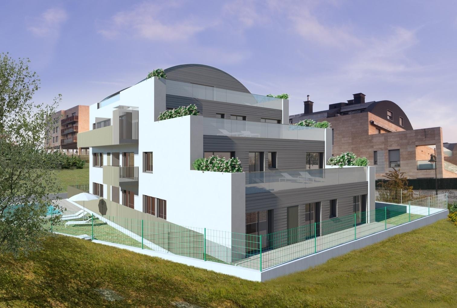 Promoci n obra nueva en viesques arm inmobiliaria gijon - Pisos de obra nueva en gijon ...